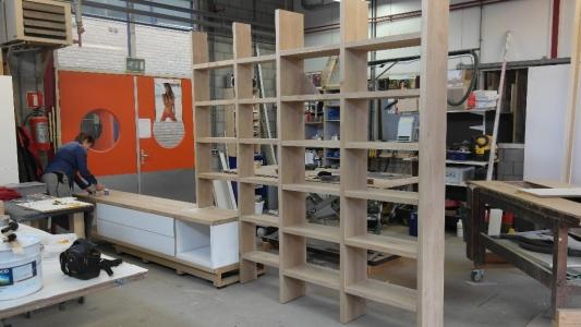 eiken boekenkast  rensma.nl mimeubels