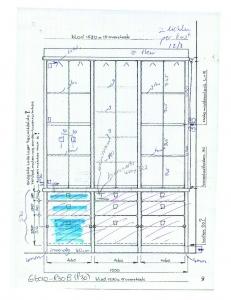 tekening voor maatwerk  rensma.nl mimeubels