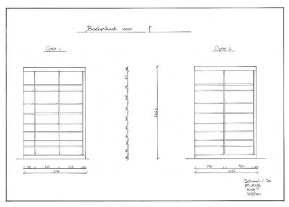 Kastenwanden. MiMeubels, Marianne Meijs, de meubelmakerij.frl. renovatie. Pieter Rensma Meubelspuiterij